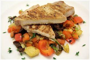 Koteletts mit Thymian-Gemüse