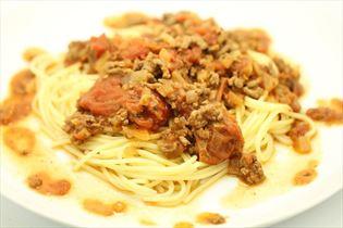 Millionensteak' mit Spaghetti
