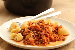 Fleischsauce mit Pasta