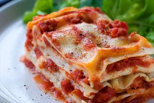 Lasagne mit Kliesche