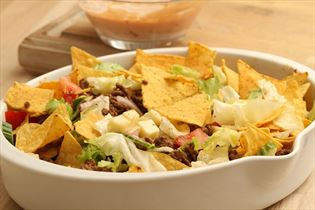 Mexikanischer Tacosalat