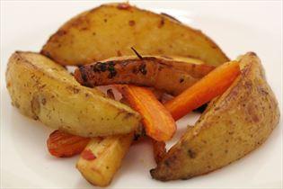 Leckere Kartoffelspalten