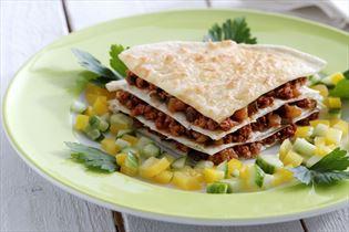 Mexikanische Tortillaquiche