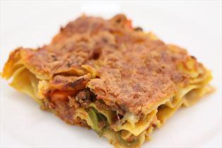 Leckere Lasagne mit Gemüse