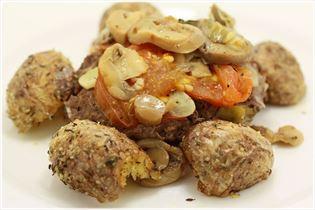 Folien-Steak mit Ofenkartoffeln
