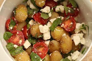 Feta-Kartoffelsalat