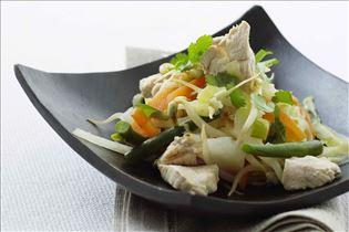Chop Suey mit Hähnchen
