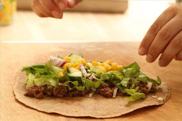 Mexikanische Burritos