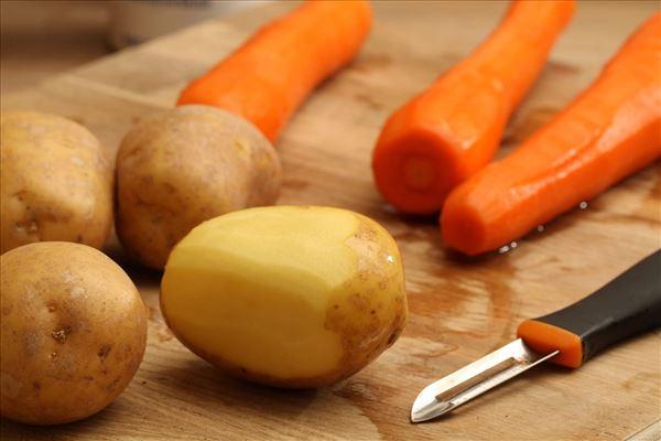 Cordon bleu mit Kartoffelpüree