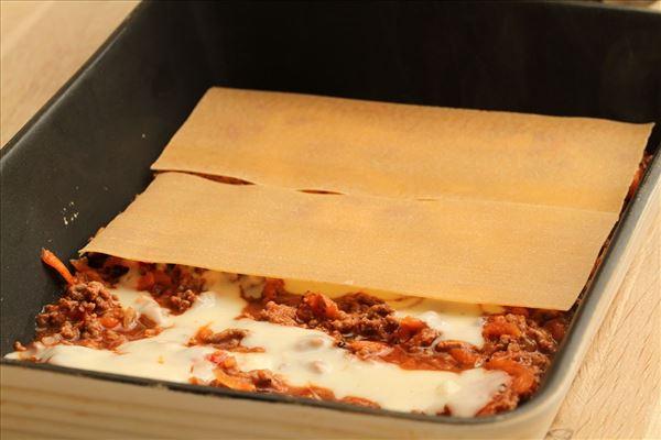 Lasagne mit Bechamelsauce