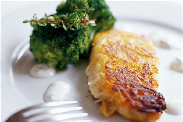 Kartoffel-Seelachs mit Limettendressing