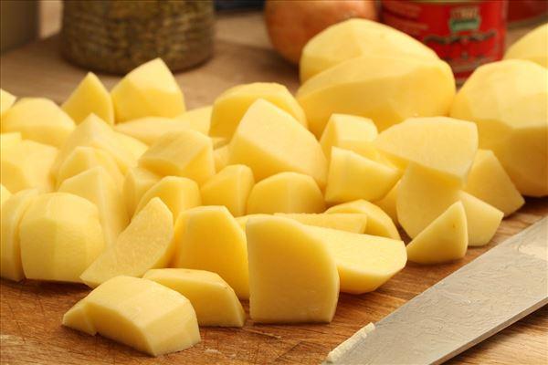 Gratiniertes Kartoffelpüree mit Fleischsauce