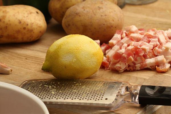 Putenbrust in Zitrone