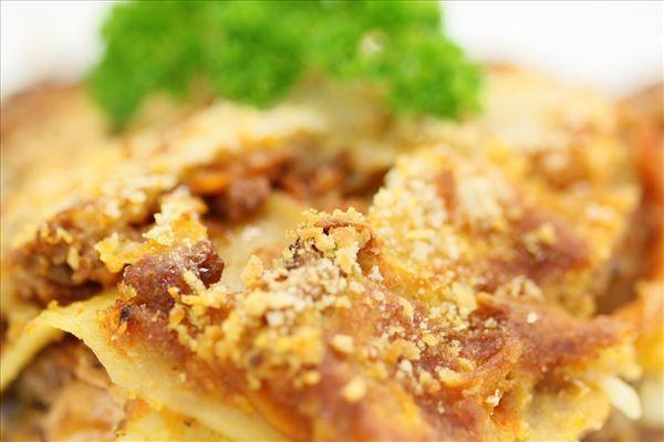 Lasagne mit Hüttenkäse