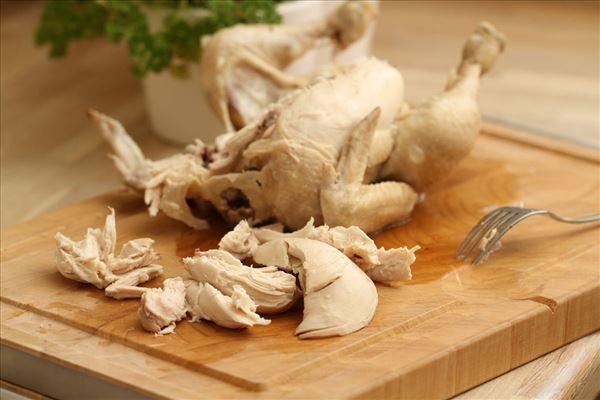 Blätterteigpasteten mit Huhn und Spargel