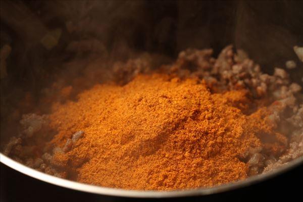 Mexikanische Quiche mit Rindfleisch