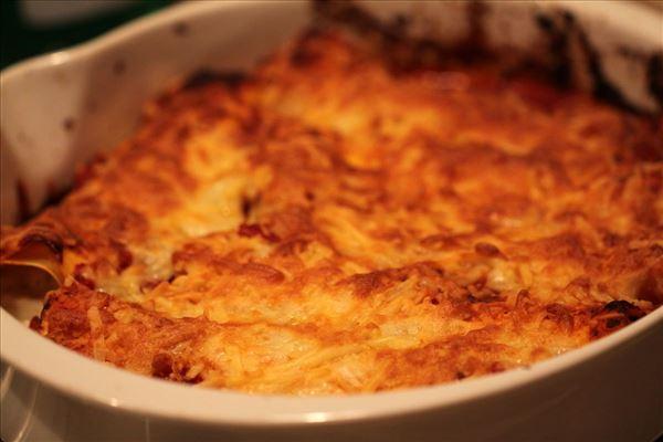 Pastarollen mit Pute und Hüttenkäse